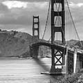 Golden Gate In Black And White by Cliff Wassmann