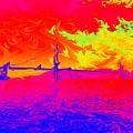 Golden Gate Mod Pop by Jenny Revitz Soper
