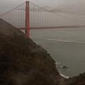 Golden Gate On A Grey Day by Patrick  Flynn