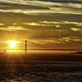 Golden Gate Sunset by Chris Cousins