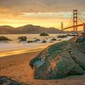 Golden Gate Sunset by James Udall