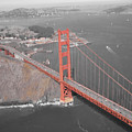 Golden Gate The Color Of The Bridge by Jerry Patchin