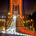 Golden Gate Traffic by Michael Tidwell