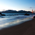 Golden Gate Tranquility by Mike Reid