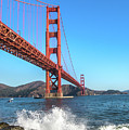 Golden Gate Waves by Stacey Sather