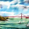 Golden Gates Of San Francisco by Irina Sztukowski