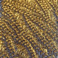 Golden Grains - Hoarfrost On A Solar Panel by Kim Bemis