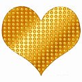 Golden Heart White by Yamy Morrell