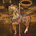 Golden Horse by Garland Johnson