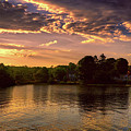 Golden Hour In New England by Lilia D