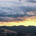Golden Hour In Volterra by Matteo Viviani