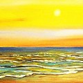 Sunset Beach  by Dawn  Hawkins