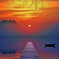 Golden Lake by Harry Warrick