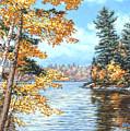 Golden Lake by Richard De Wolfe