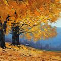 Golden Leaves by Graham Gercken