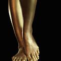 Golden Legs by Oleksiy Maksymenko