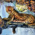 Golden Leopard by Ksenia Kozhenkova