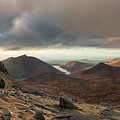 Golden Light Breaking On Slieve Bearnagh  by Glen Sumner
