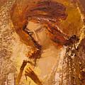 Golden Light Of Angel. Fragment by Valentina Kondrashova