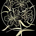 Golden Lilies by Masha Batkova