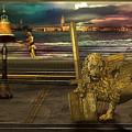 Golden Lion From Alternative Earth by Desislava Draganova