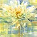 Golden Lotus by Carolyn Utigard Thomas