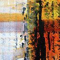Golden Marks 4 by Nancy Merkle