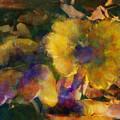 Golden Mushrooms by Carolyn Saine