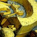 Golden Musselburgh IIi by Nicola Graham