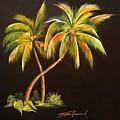 Golden Palms 2 by Stephen Broussard