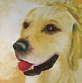 Golden Retriever by Dick Larsen