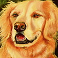 Golden Retriever Sweet As Sugar by Susan A Becker