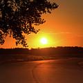 Golden Road Sunrise by Tony Hake