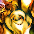 Golden Rose N Twilight by Gayle Price Thomas
