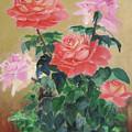 Golden Roses by Lian Zhen