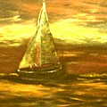 Golden Sailboat Days by Beth Boone Snyder