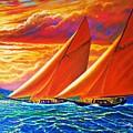 Golden Sails by Joseph   Ruff