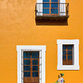 Golden Streets Of Puebla Mexico by Mark E Tisdale