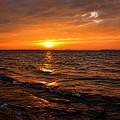 Golden Sundown by Carolyn Fletcher