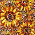 Golden Sunflower by Natalie Holland