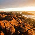 Golden Sunset Coast by Jorgo Photography - Wall Art Gallery