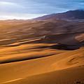Golden Sunset In The Dunes by Adam Pender