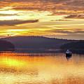 Golden Sunset by Pixabay