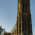 Golden Sunset On The Duke Chapel by Anthony Doudt