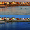 Golden To Blue Hour Puerto Sherry Cadiz Spain by Pablo Avanzini