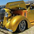 Golden Vintage Dodge by Robert VanDerWal