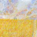 Golden Wheat Field by Glenda Crigger