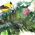 Goldfinch by Sherry Shipley