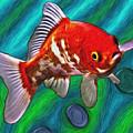 Goldfish by Eastern Sierra Gallery