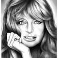 Goldie Hawn by Greg Joens
